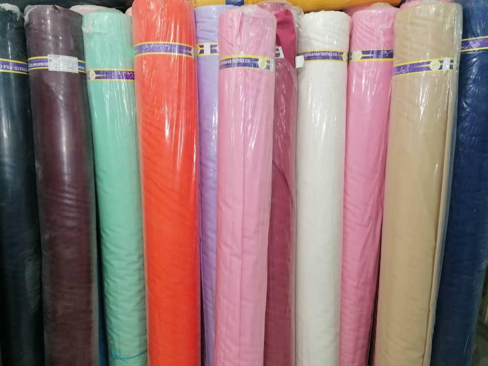 قیمت پارچه تترون مشکی عرض 3 متر
